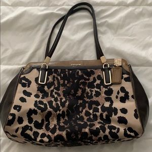 Leopard coach bag